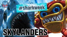 Skylanders SHARK WEEK Wham Shell #Skylanders #SharkWeek #Toys #Collecting