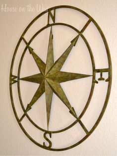 Compass Rose Wall Hanging ~ House on the Way