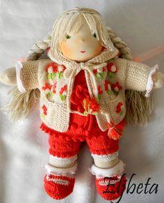 Waldorf doll Nastya by Eljbeta