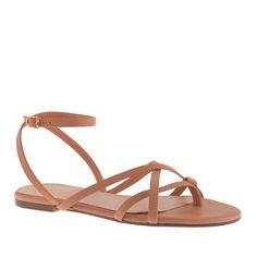 pilar sandals / j.crew