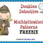 This is one of my FREE products to share a fun multiplication strategy!Help your students learn how to use patterns in multiplication to solve mu...
