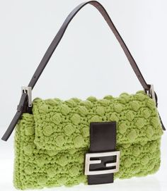 shoulder bags, crochet bag, baguett shoulder