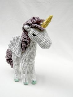 Amigurumi unicorn