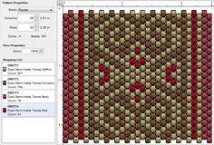 Beading: Peyote Stitch Pattern 31