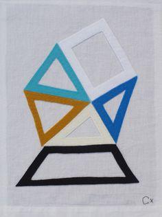Rachel Castle embroidery