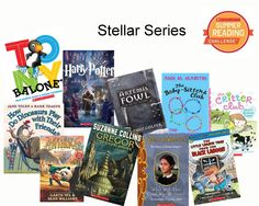 This summer, get hooked on a stellar series! Don't forget to log reading minutes for the Summer Reading Challenge! #summerreading