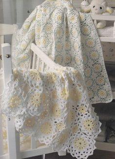 Lovely Baby Afghan Crochet Patterns