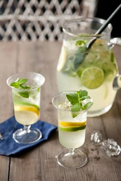 Minted Lemon and Limeade on PaulaDeen.com