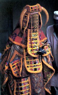 Africa | Egungun.  Ijebu Yoruba people of Nigeria  | ©M.T. Drewal. 1986