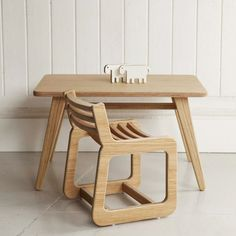Table + chair set from Unto this last
