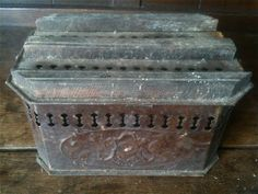 Antique French Hot Coal Foot Warmer / English Shop