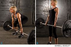 The Female Training Bible: Everything To Shape The Female Physique!  This page is a gold mine of professional information specifically for women.   Photo demonstrations, video's, tutorials, pdf's, and even a detailed 12-Week Resistance Training Workout Program.  If you're serious about toning and reshaping, this one is not to be overlooked!