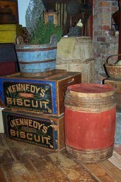 Red barrel ... Circa 1850-60