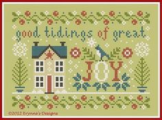 JOY freebie x stitch pattern PDF. Just so lovely, thanks for share oxx