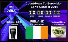eurovision 2014 ireland position