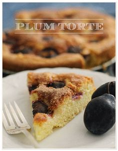 Plum Torte // The Parsley Thief