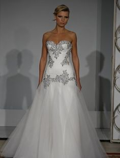 How would this look in pale blush with amber detailing??? Hmmm