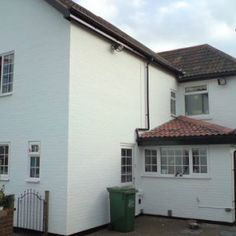 chippenham house with external wall coatings paint