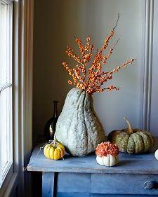 Fall flower arrangement courtesy of Martha Stewart