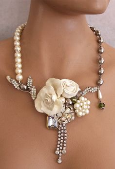 Pearls and Rhinestones.