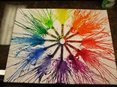 Color Wheel Project what am doing for art!!!!!!!!