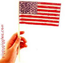 American Flag craft idea