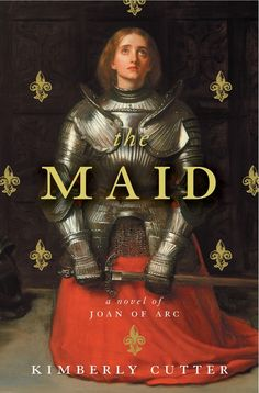 "The Maid: A Novel of Joan of Arc, by Kimberly Cutter. This one I'm half way into. It's really good. Fascinating subject, vivid depiction of a brutal time in human history, and Cutter's portrayal of Joan is brilliant. My son asked about this one -- the cover shows Joan in armor -- and I told him the premise and started reading a few lines. ""Keep reading,"" he said. The next day, he asked, ""Can you read more of that book to me?"""