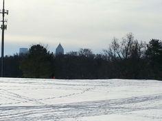 Atlanta, Ga in the snow