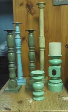 Re-purposed spindles