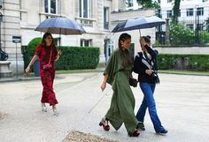 Street Style: Fall 2014 Couture - Vogue