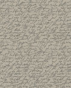 Script (9448-32) - Albany Wallpapers - A simple all over script design with random words in a handwritten effect - in black on a taupe beige background. Please request sample for true colour match. Water closet