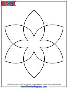Simple Mandala Patterns | Simple Mandala Coloring Page For Kids