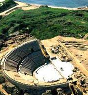 There so much to do in Caesarea National Park