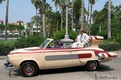 1950 Studebaker Champion Regal convertible modified into a Star Wars landspeeder.
