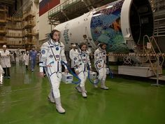 Expedition 38 crew is getting ready for their mission to the International Space Station. #spacecaching