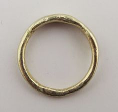 Katherine Bowman 9ct yellow gold ring