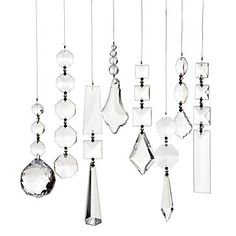 Linear Strand Crystal Chandelier - Shop Our Stylish Selection in Lighting | Z Gallerie