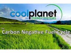 "From Forbes Magazine, mainstream business attention: ""Cool Planet: A Company That Makes Biochar And Gasoline"""