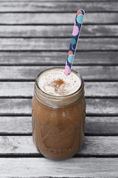 Spiced almond milk hot chocolate