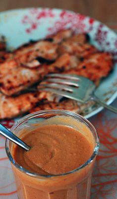 chicken satay sauce
