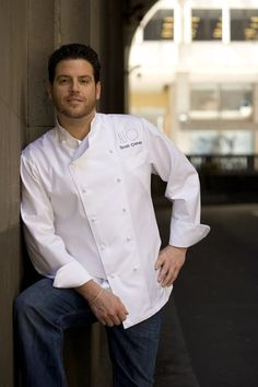 Scott Conant..he'd be my chef if Tyler Florence was busy!  ;)