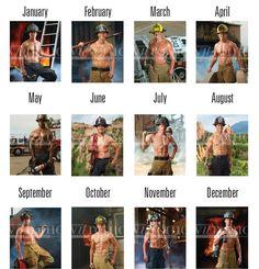 fireman calendar