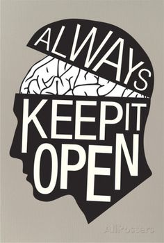 Always Keep It Open Poster Posters at AllPosters.com