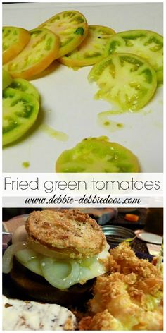 How to make #friedgreentomatoes. #Southernstyle