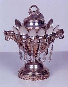 Sterling silver tea spoons!