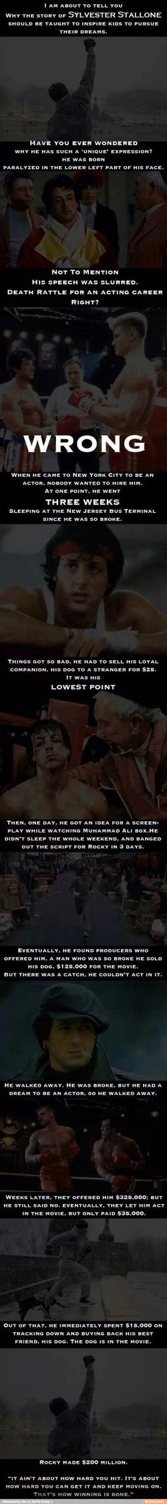 Rocky! #Inspiring