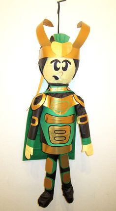 Loki from the Avengers Custom Order Pinata --