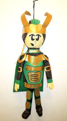 Loki from the Avengers Custom Order Pinata --