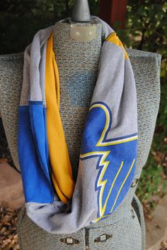St. Louis Blues Upcycled TShirt Infinity by SeasonedWithStyle, $14.00