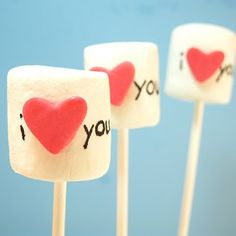 Valentines Marshmallows